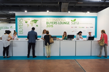 12 settembre 2015: A pieno regime i B2B alla International Buyers Lounge
